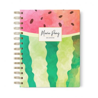 cuaderno-journal-sandia