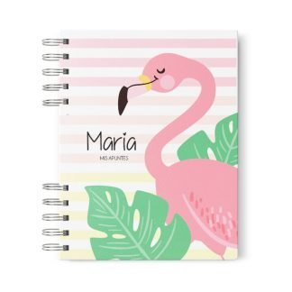 libreta estandar flamingo