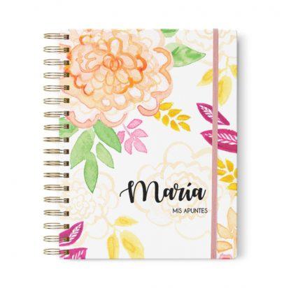 planner-diario-floral-acuarela